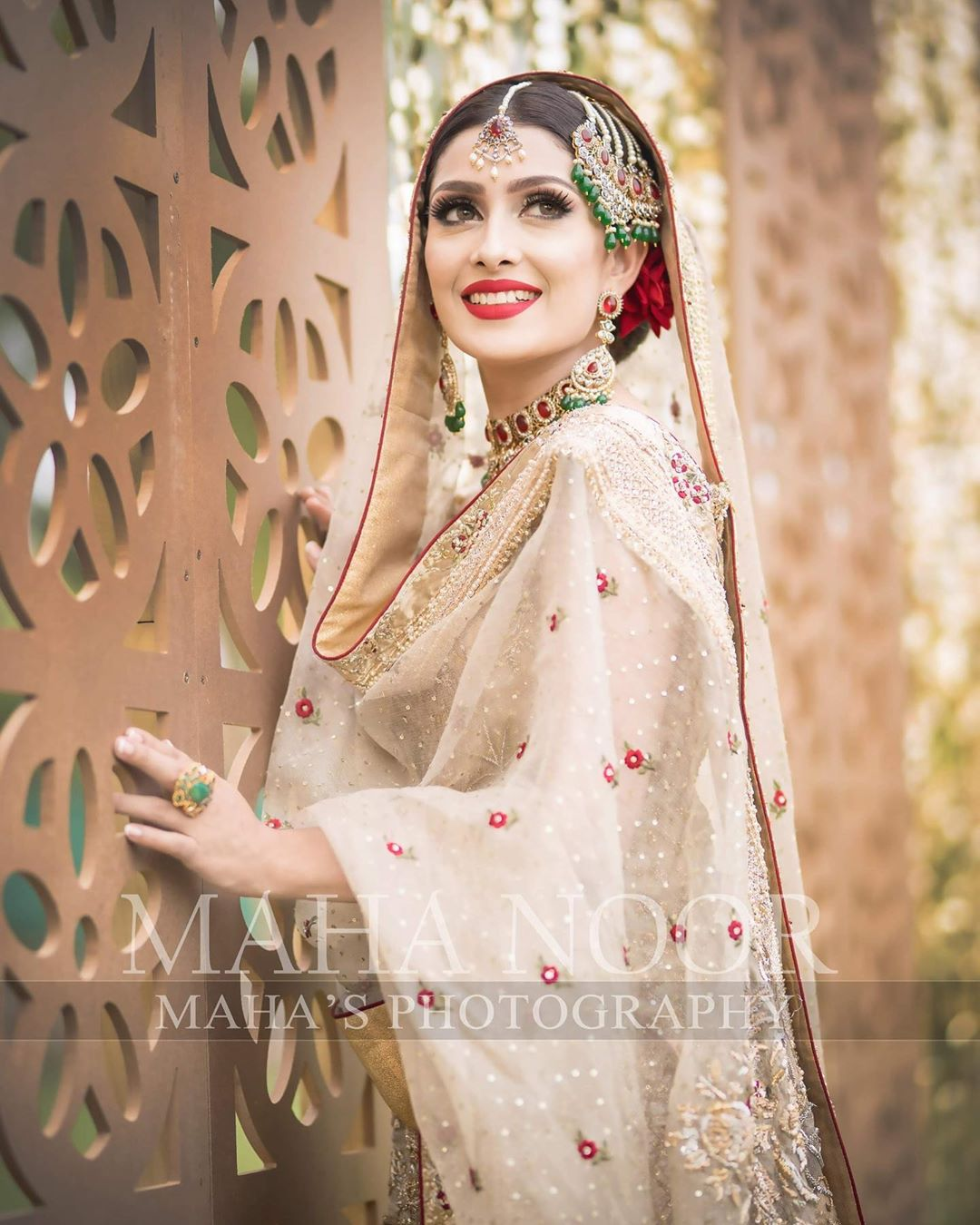 Ayeza Khan Bridal Photo Shoot 12