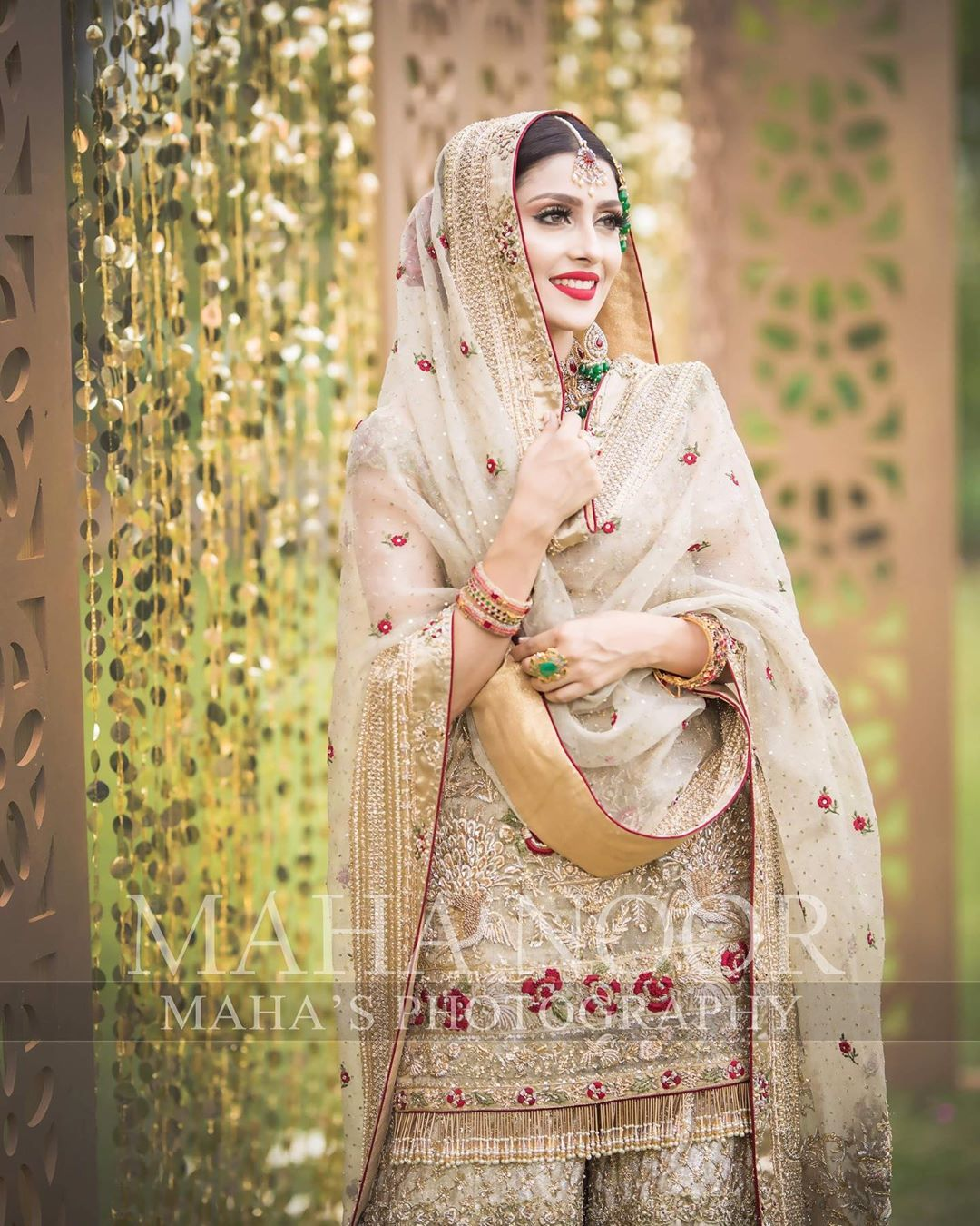 Ayeza Khan Bridal Photo Shoot 2