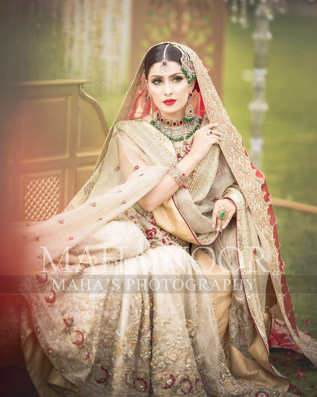 Ayeza Khan Bridal Photo Shoot 7