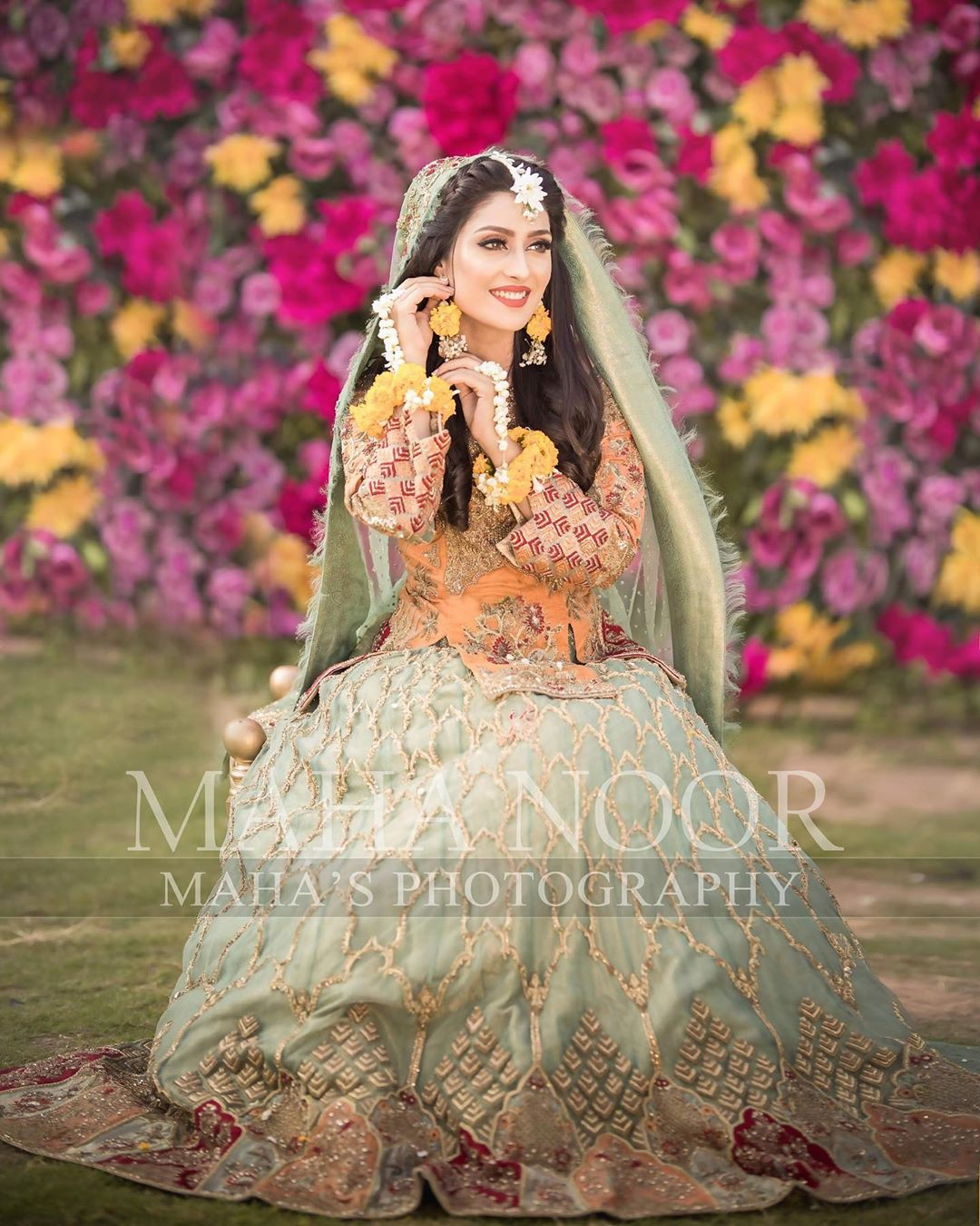 Ayeza Khan Bridal Photo Shoot 9