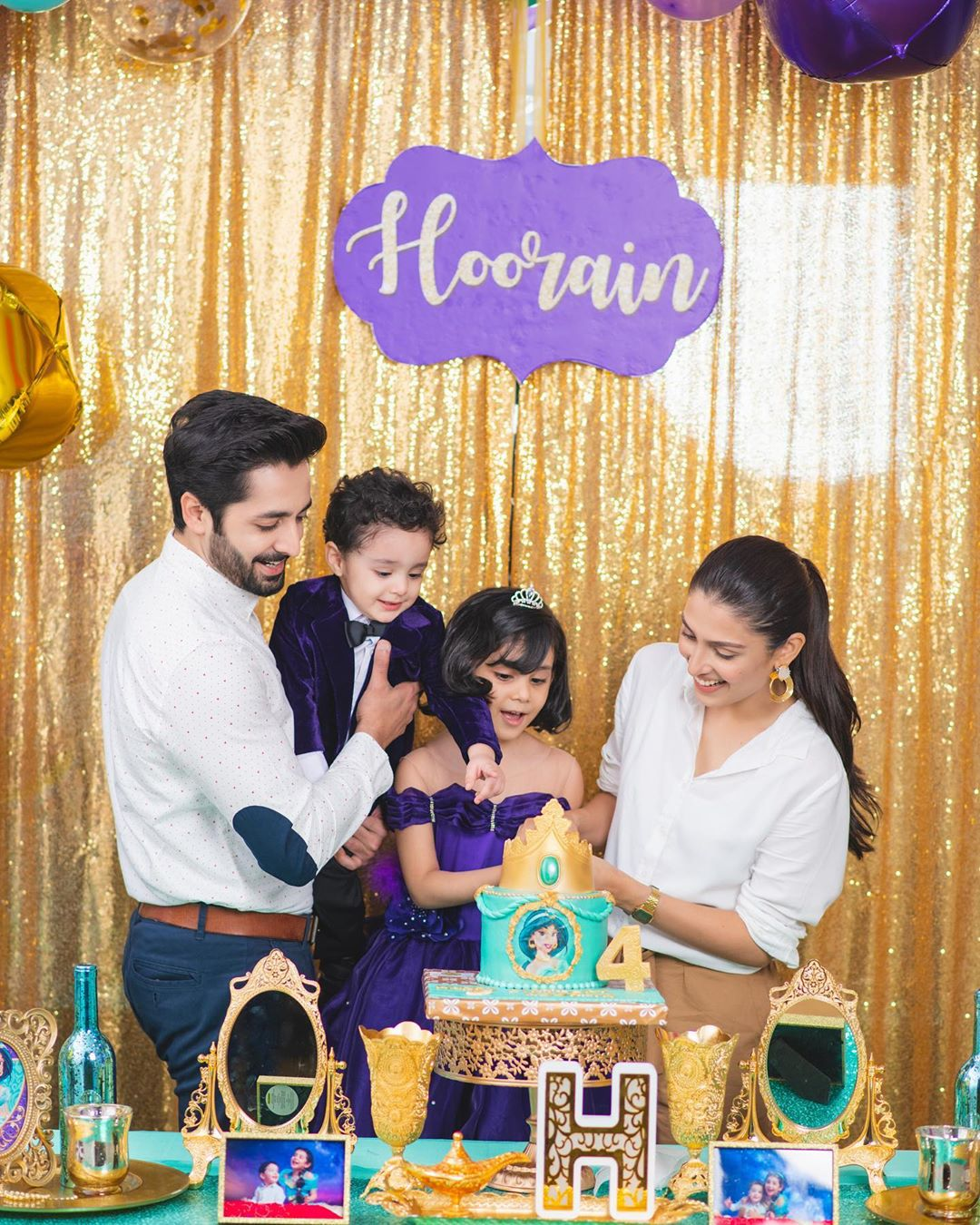 Ayeza Khan Daughter Birthday Pictures 2