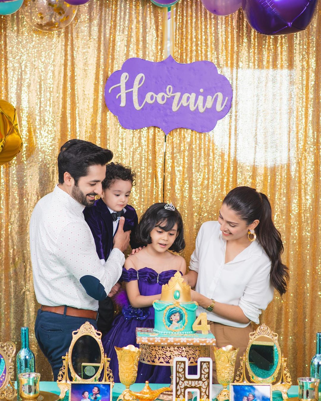 Ayeza Khan Daughter Birthday Pictures 3