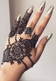 Black Mehndi Designs 3