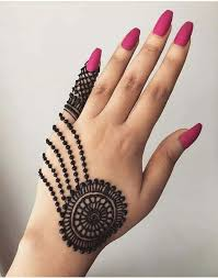 Black Mehndi Designs 5