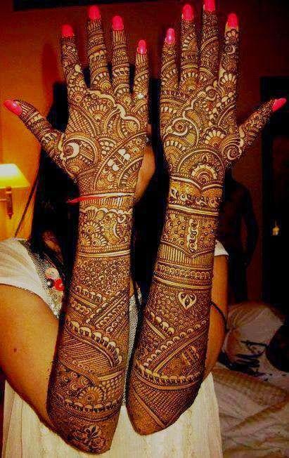 Bridal Mehndi Design 1