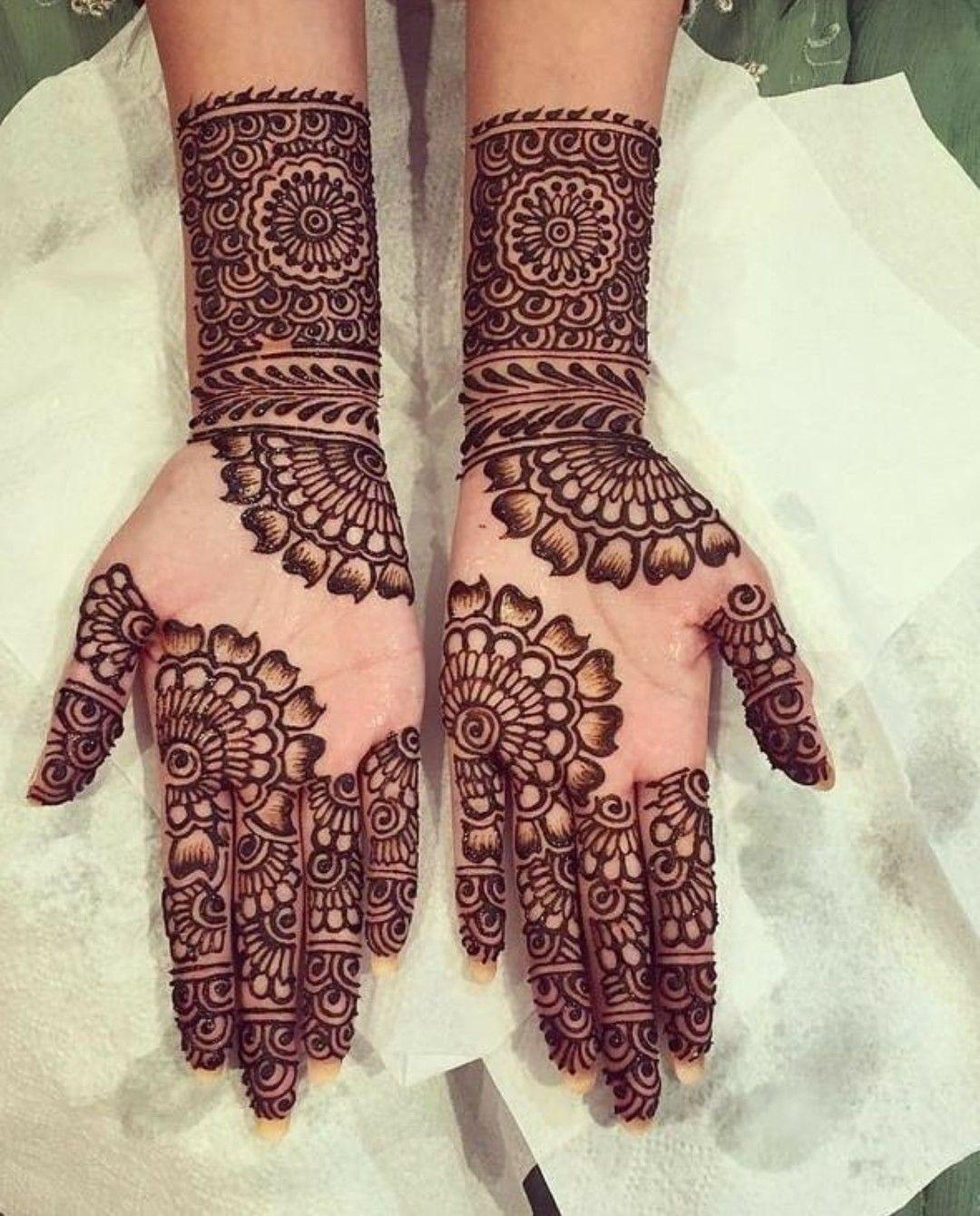 Bridal Mehndi Design 10