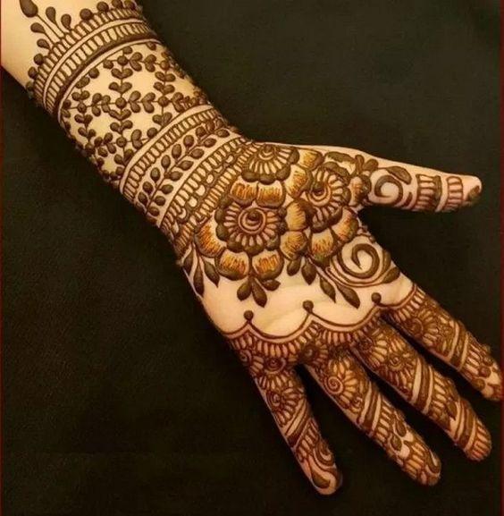 Bridal Mehndi Design 11