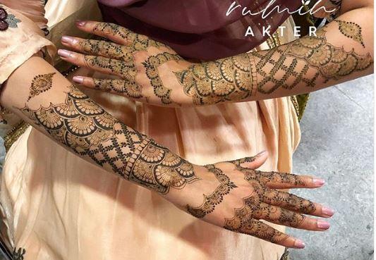 Bridal Mehndi Design 12