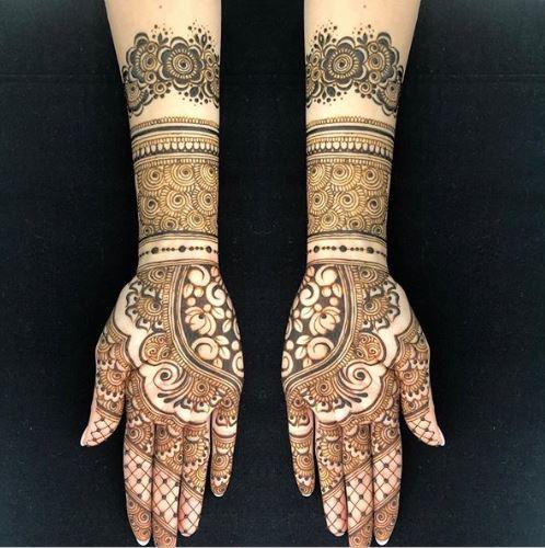 Bridal Mehndi Design 14