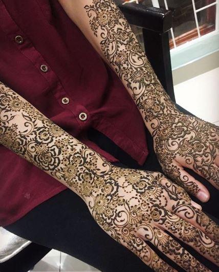 Bridal Mehndi Design 15
