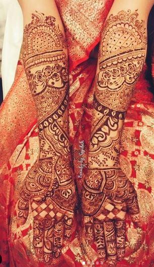 Bridal Mehndi Design 16