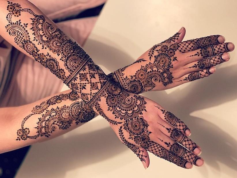 Bridal Mehndi Design 18