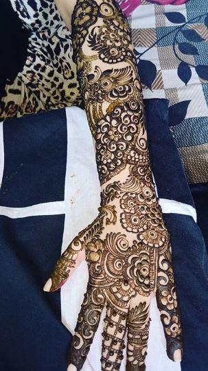Bridal Mehndi Design 19