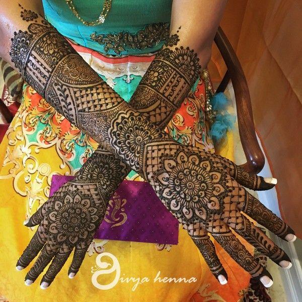 Bridal Mehndi Design 2
