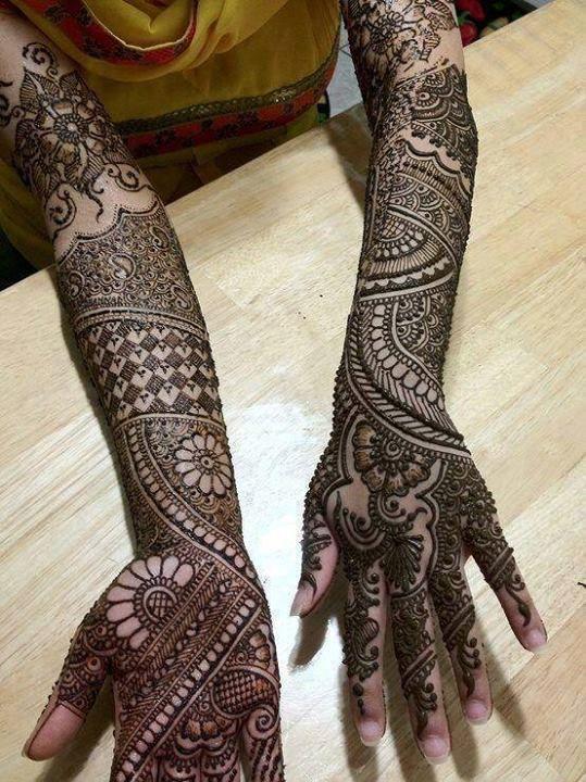 Bridal Mehndi Design 20