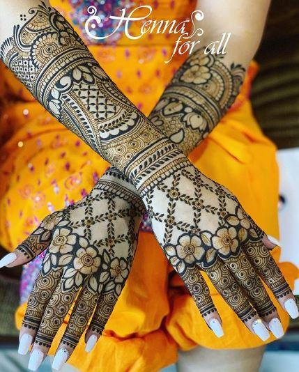 Bridal Mehndi Design 21