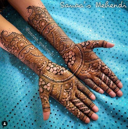 Bridal Mehndi Design 22