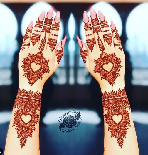 Bridal Mehndi Design 23