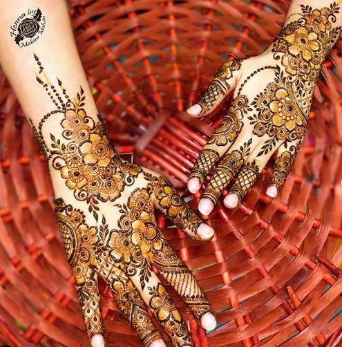 Bridal Mehndi Design 24