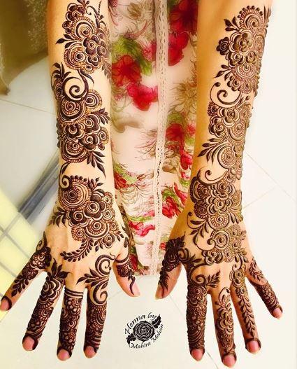 Bridal Mehndi Design 25