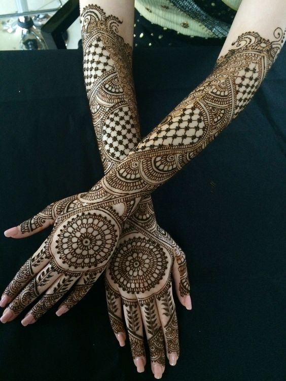 Bridal Mehndi Design 29
