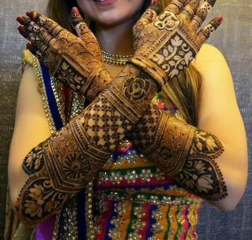 Bridal Mehndi Design 3