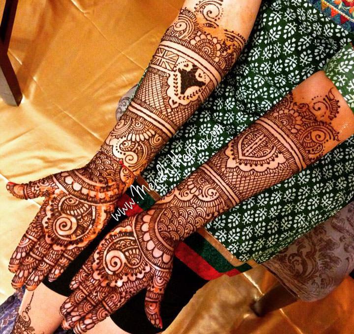 Bridal Mehndi Design 33