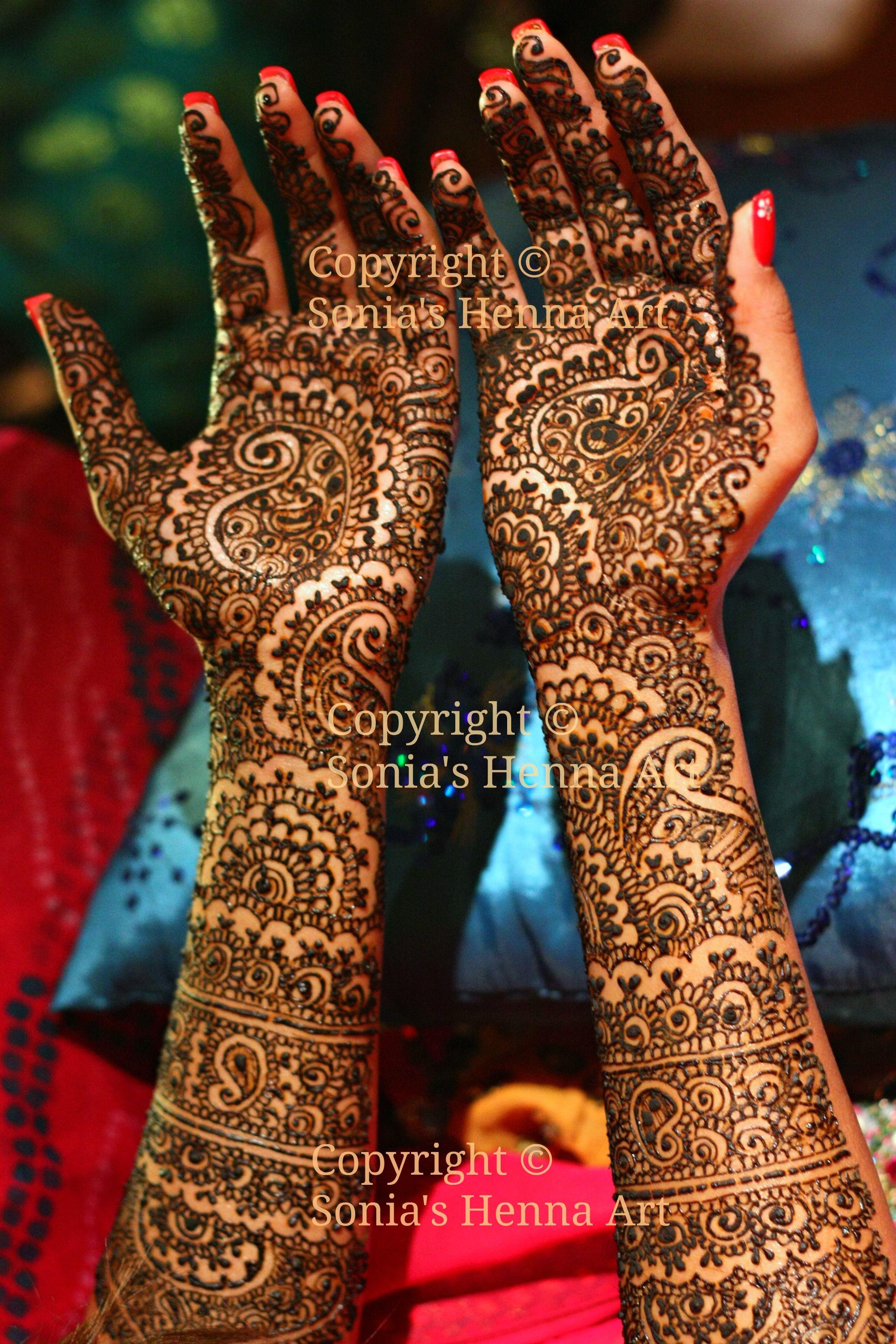 Bridal Mehndi Design 4