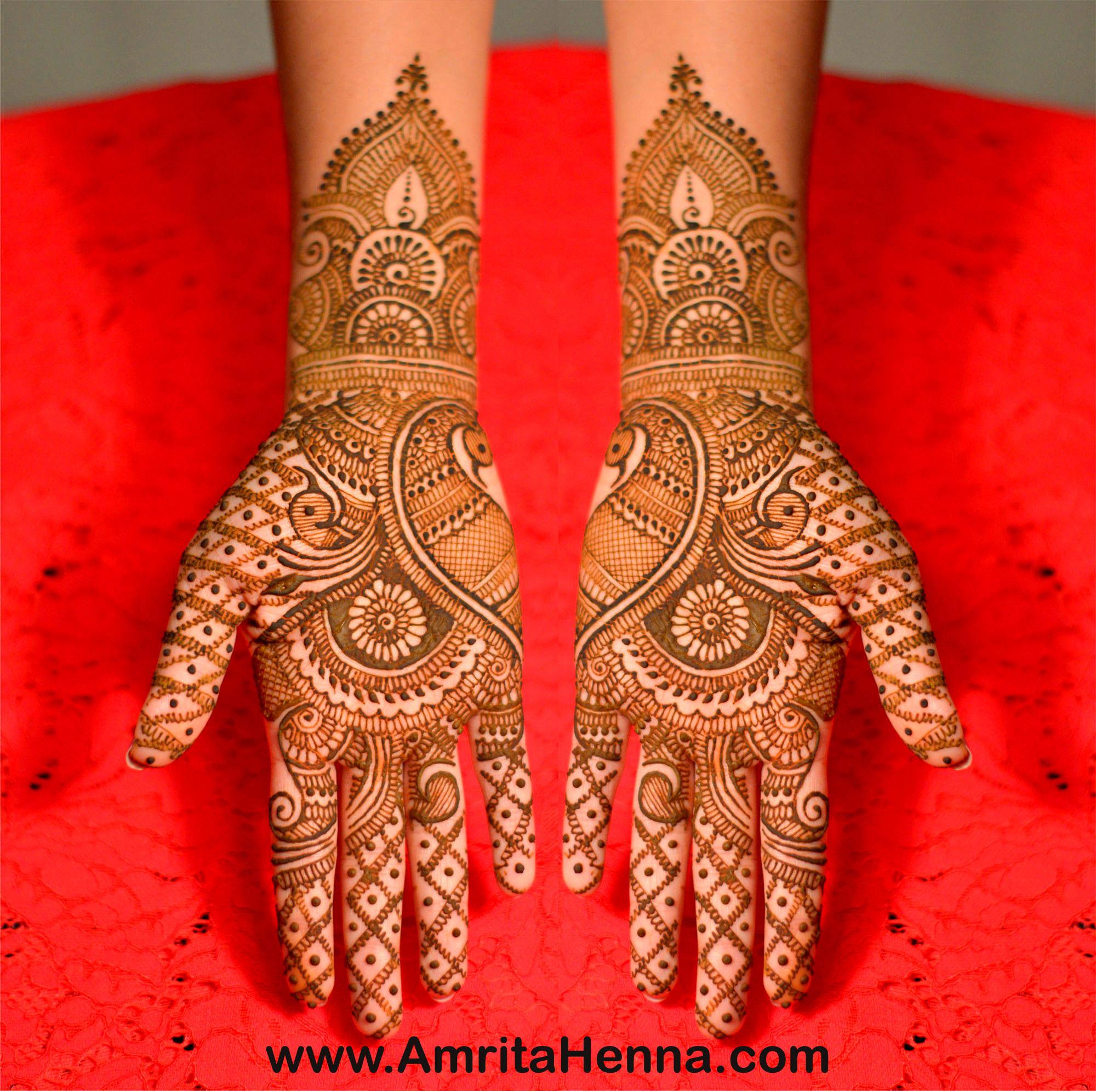 Bridal Mehndi Design 5