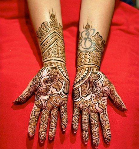 Bridal Mehndi Design 6