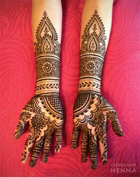 Bridal Mehndi Design 7