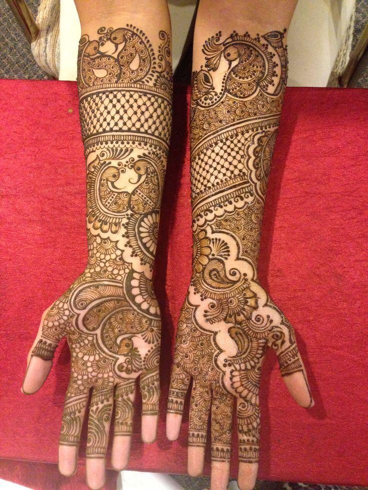 Bridal Mehndi Design 8