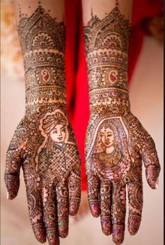 Bridal Mehndi Design 9