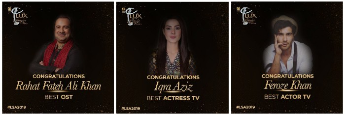 Lux Style Awards 2019 - List of Winners | Reviewit pk