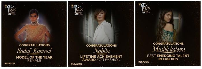 Lux Style Awards 2019 Winner 2