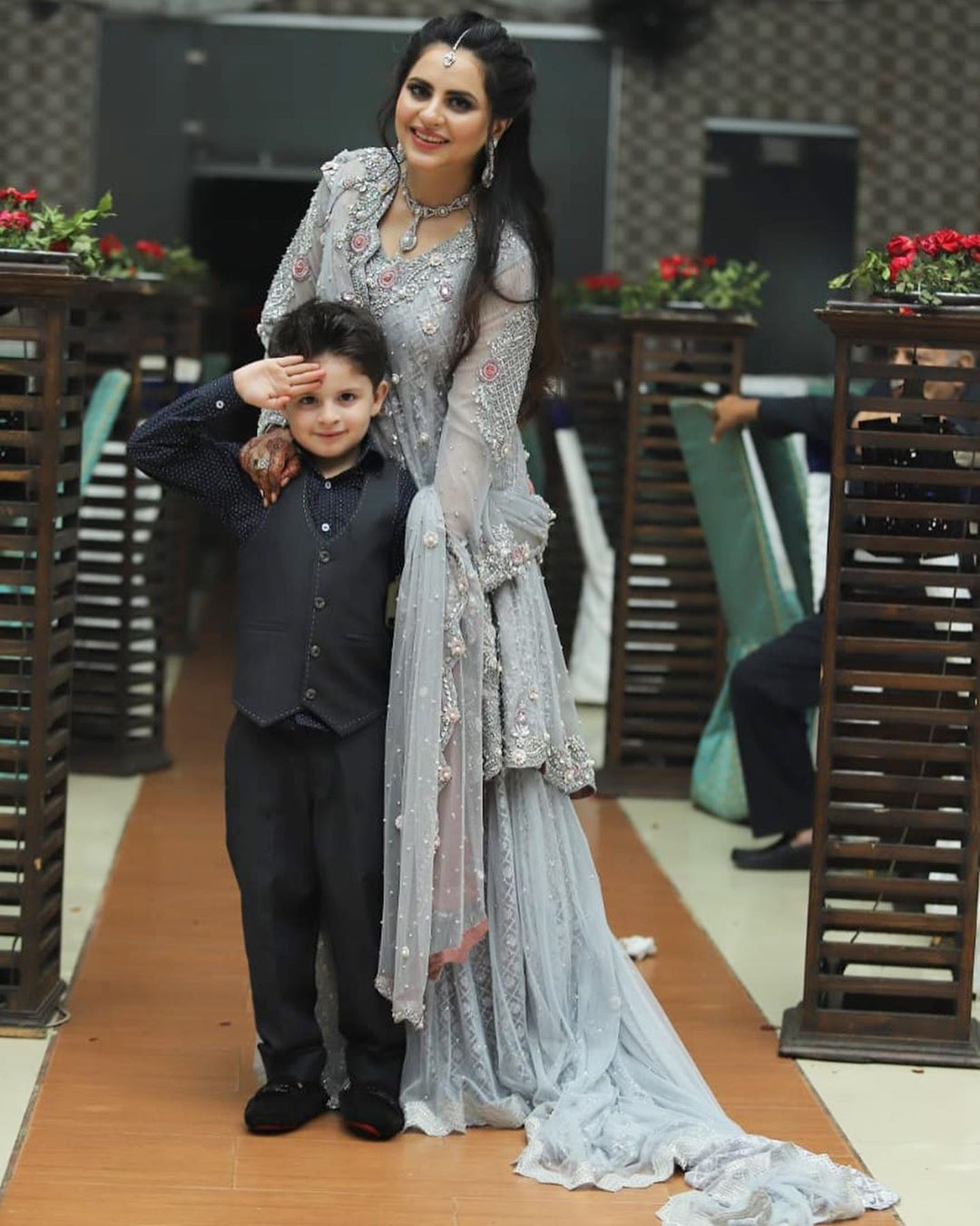 Fatima Effendi Kanwar Arsalan Spotted at recent wedding event 11