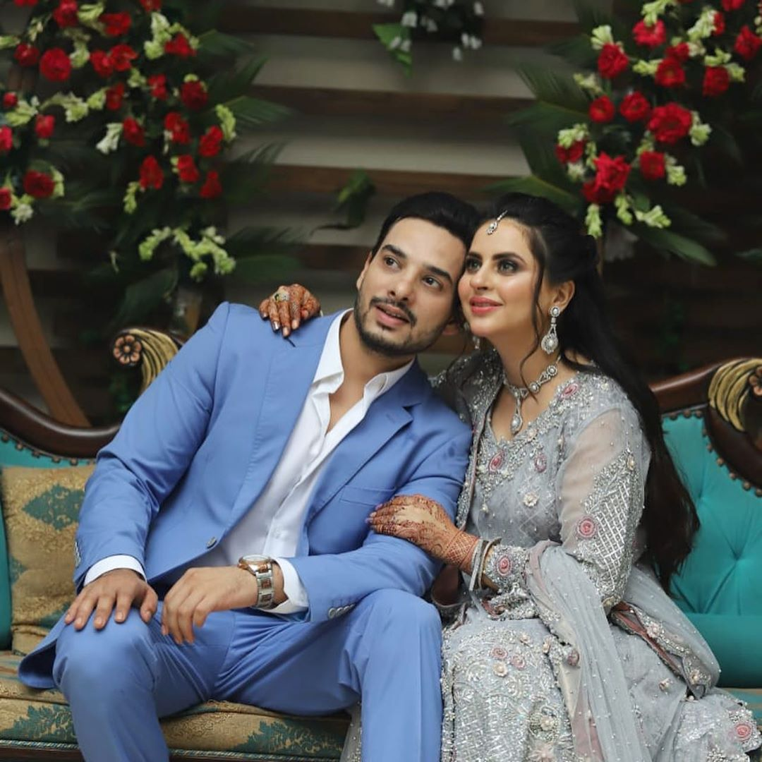 Fatima Effendi Kanwar Arsalan Spotted at recent wedding event 3