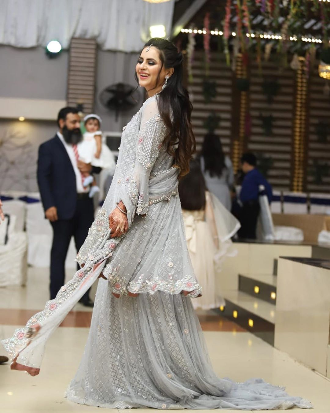Fatima Effendi Kanwar Arsalan Spotted at recent wedding event 6