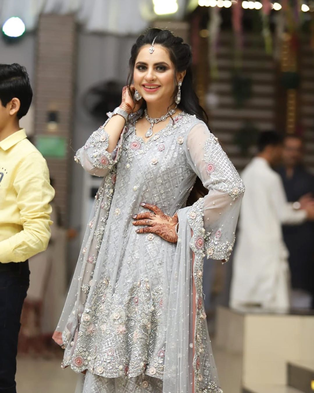 Fatima Effendi Kanwar Arsalan Spotted at recent wedding event 7