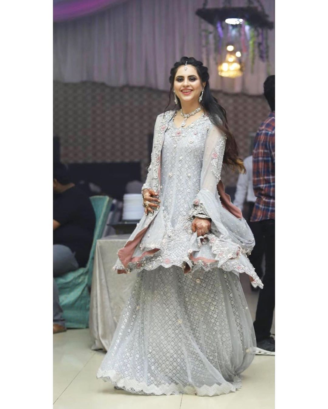 Fatima Effendi Kanwar Arsalan Spotted at recent wedding event 8