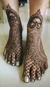 Feet Mehndi Designs 12