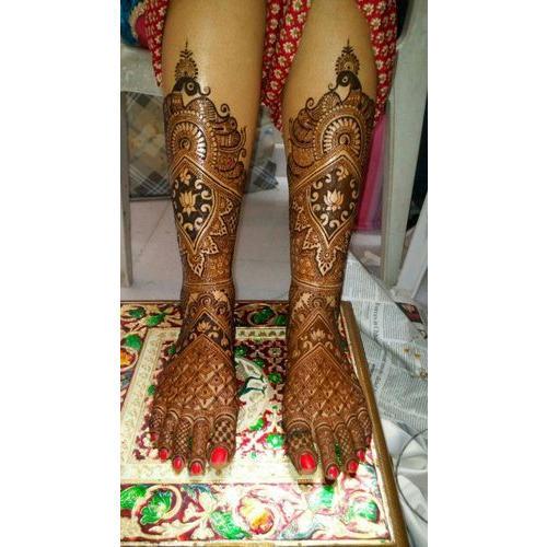 Feet Mehndi Designs 15