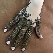 Finger Mehndi Designs 1