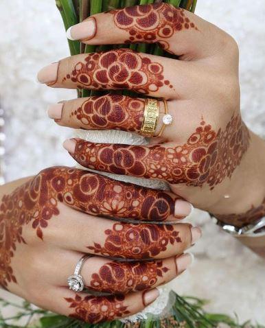 Finger Mehndi Designs 12
