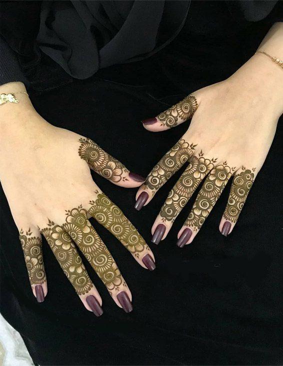 Finger Mehndi Designs 15