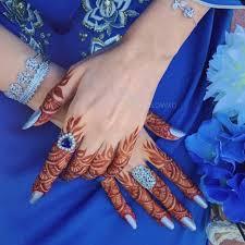 Finger Mehndi Designs 16