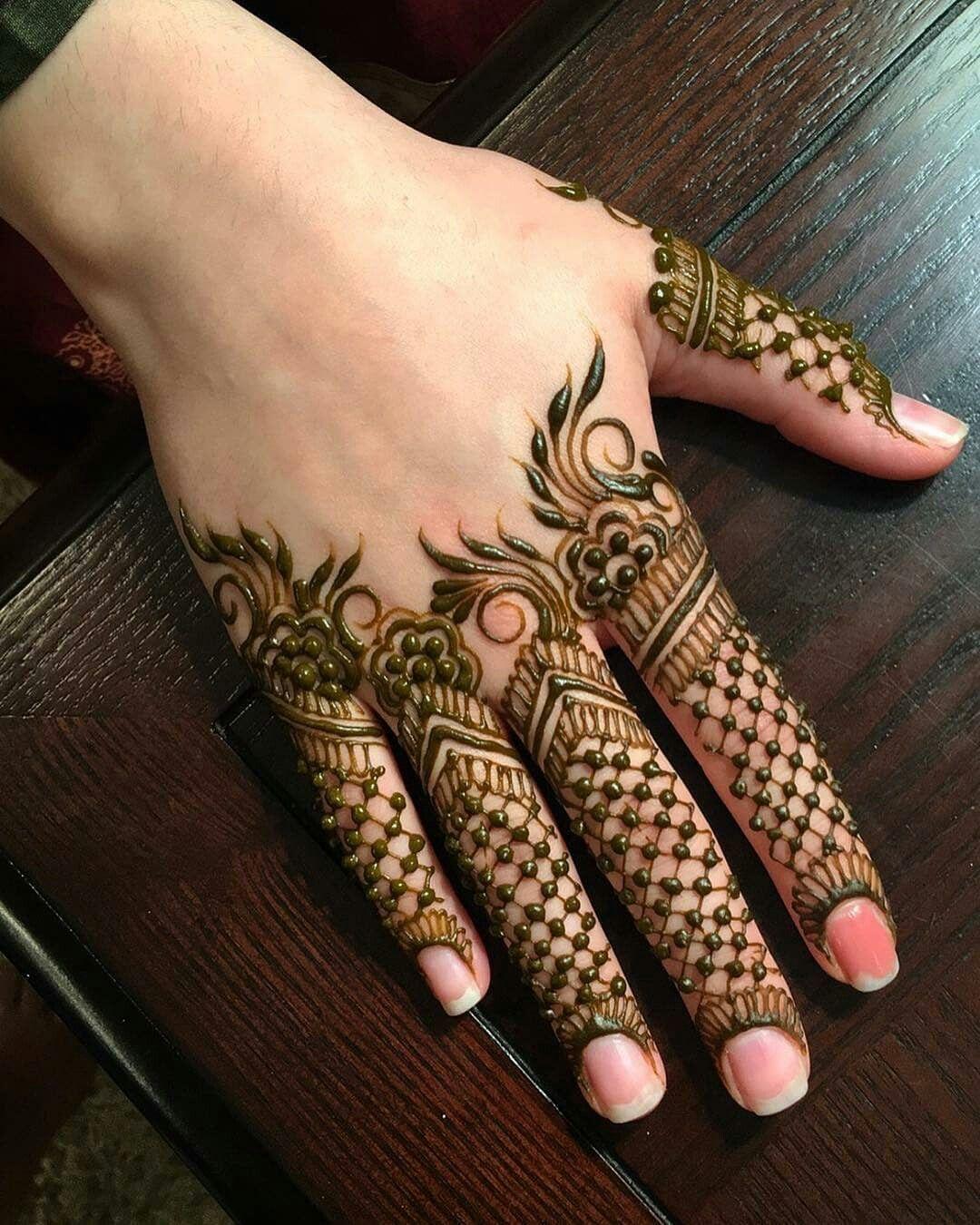 Finger Mehndi Designs 18