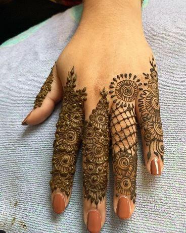Finger Mehndi Designs 2