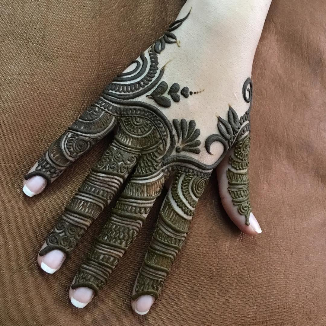 Finger Mehndi Designs 4