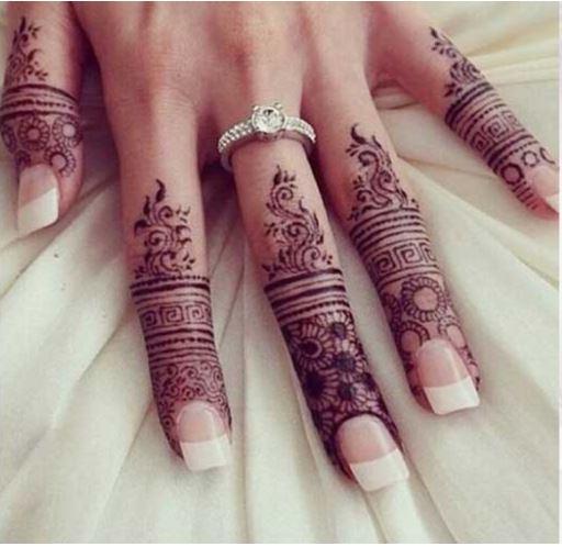 Finger Mehndi Designs 5